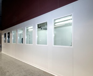 polyurethane panels as used in clean and cold rooms