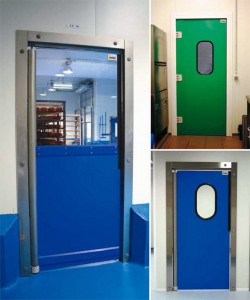 insulated flip flap doors