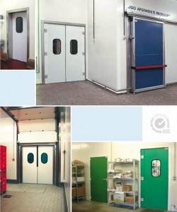 Flip Flap insulated doors
