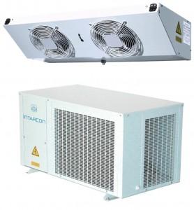 Intarsplit refrigeration package system