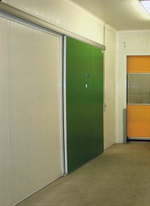 Sliding service doors
