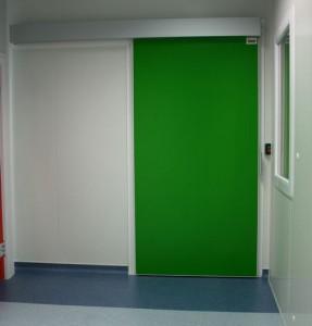 Slightly insulated sliding doors