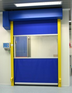 Speed roller doors