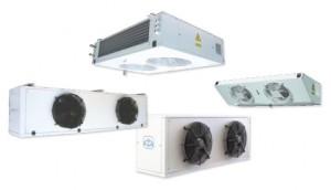 evaporating units for refrigeration