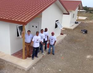 Modular home build (Curacao 2013)